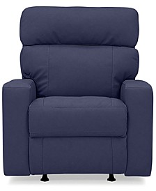 "Leyburn 35"" Leather Wallhugger Chair with Power Recliner and Power Headrests"