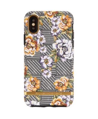 Floral Tweed Case for iPhone XS MAX