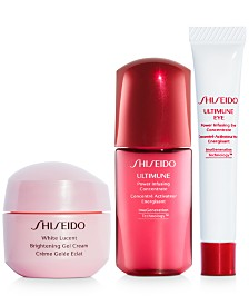 Celebrate Lunar New Year with Free 3pc skincare gift with $75 Shiseido purchase!