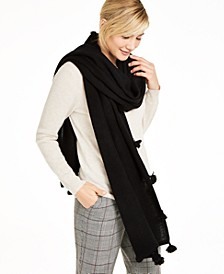 Cashmere Tasseled Scarf, Created for Macy's