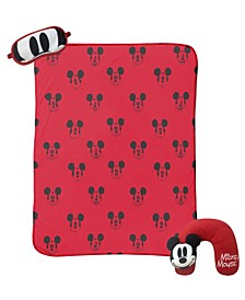 Mickey Mouse 3-Piece Travel Set