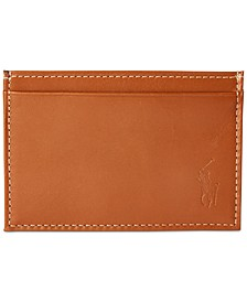 Men's Burnished Leather Slim Card Case