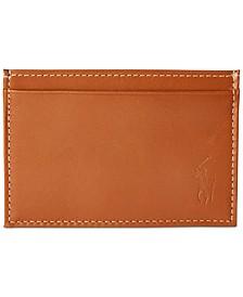 Men's Burnished Leather Slim Card Case