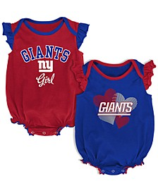 Baby New York Giants Celebration Bodysuit Set