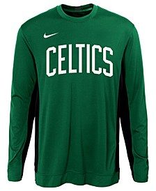 Big Boys Boston Celtics Long Sleeve Shooter T-Shirt