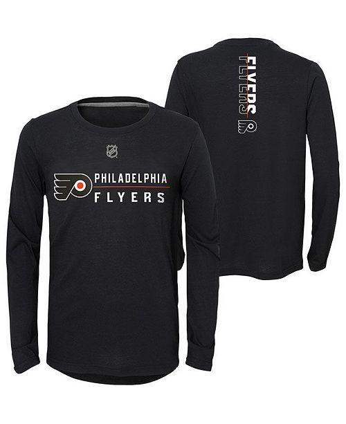 Outerstuff Big Boys Philadelphia Flyers Deliver Long Sleeve T-Shirt