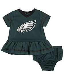 Baby Philadelphia Eagles Dazzle Dress
