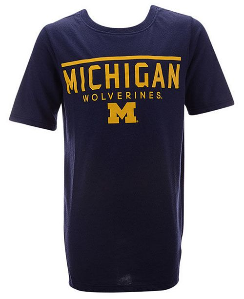 Outerstuff Big Boys Michigan Wolverines Certified Ultra T-Shirt
