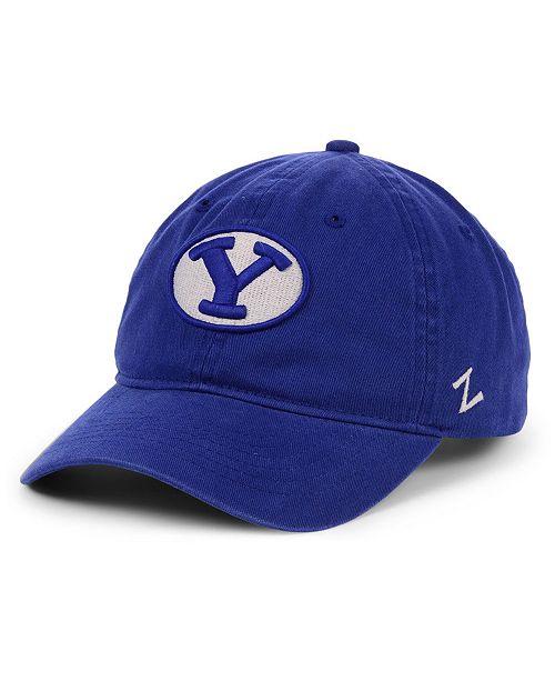 Zephyr Brigham Young Cougars Scholarship Strapback Cap