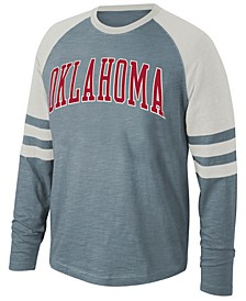 Men's Oklahoma Sooners Slub Long Sleeve T-Shirt