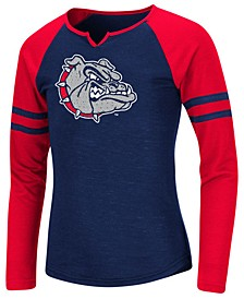 Big Girls Gonzaga Bulldogs Andy Long Sleeve T-Shirt