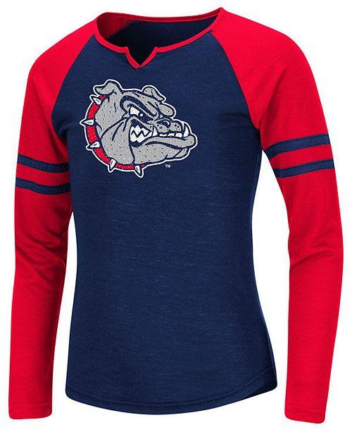 Colosseum Big Girls Gonzaga Bulldogs Andy Long Sleeve T-Shirt