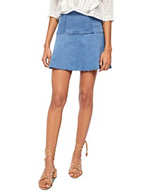 Highlands Denim Mini Skirt