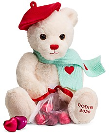 Valentine's Day Plush with Foil Hearts