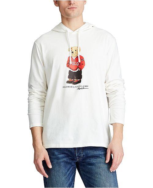 Polo Ralph Lauren Men's Polo Bear Hooded T-Shirt