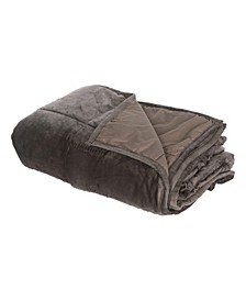 Home Comfort Plush Weighted Blanket, 15lb