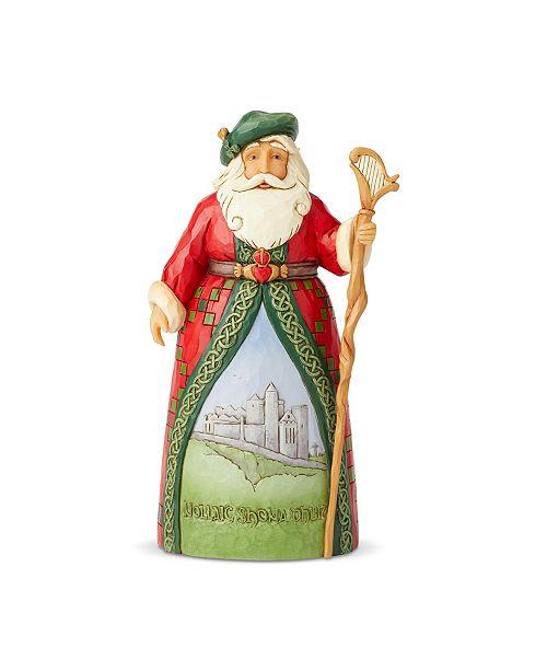 Enesco Irish Santa