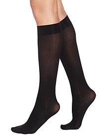 HUE® Women's Soft Opaque Knee High Trouser Socks
