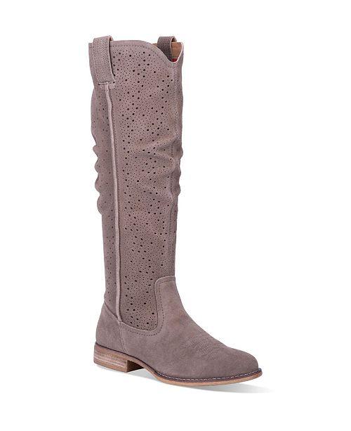 Dingo Women's Adrina Leather Regular-Calf Boot