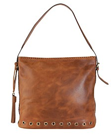 Genuine Leather Retro Hobo