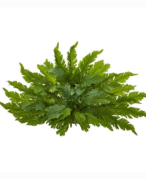 Nearly Natural 26in. Fern Artificial Ledge Plant