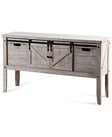 Farmhouse Wine Storage Console