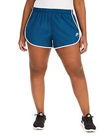 Plus Size Air Logo Shorts