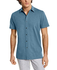Men's Textured Shirt, Created for Macy's