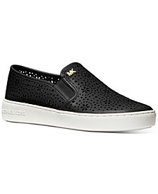Kane Perforated Slip-On Sneakers