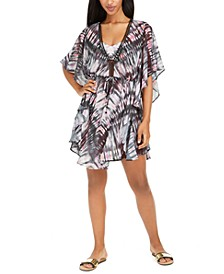 Tie-Dye Caftan Swim Cover-Up, Created For Macy's
