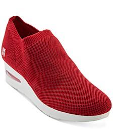 Alfie Knit Wedge Sneakers