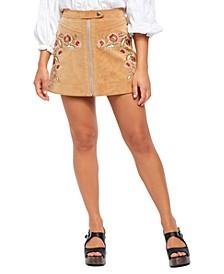 Alanis Moto Mini Skirt