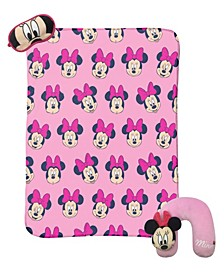 Minnie Mouse 3-Piece Travel Set