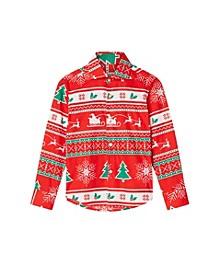 Toddler Boys Winter Wonderland Christmas Shirt