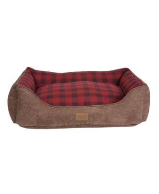 Plaid Kuddler Bed