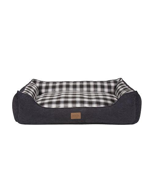 Pendleton Plaid Kuddler Bed