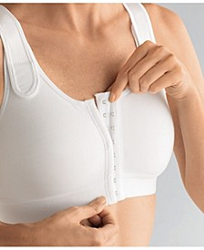 Sarah Front Fastening Front Close Soft Post-Surgery Bra