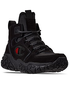 Boys Tank Grid Nubuck Mid Athletic Sneakers Boots from Finish Line
