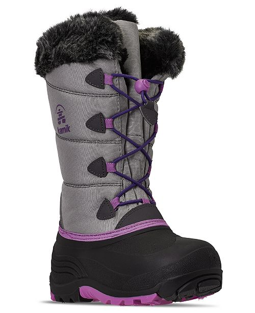Kamik Girls Snowgypsy Winter Boots from Finish Line