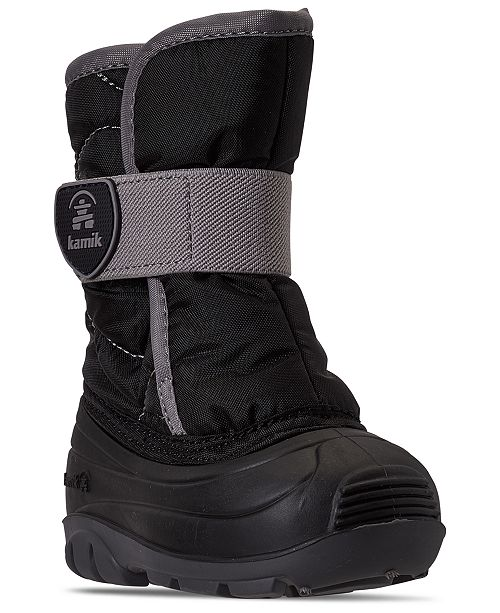 Kamik Toddler Boys Snowbug Outdoor Boots from Finish Line
