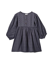 Little, Big and Toddler Girl's Goldie Long Sleeve Dress