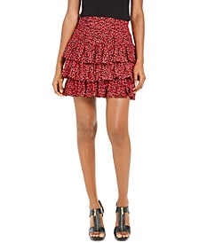 Tiered Smocked Skirt