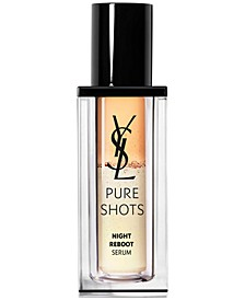 Pure Shots Night Reboot Resurfacing Serum, 1-oz.