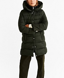 Hood Quilted Coat