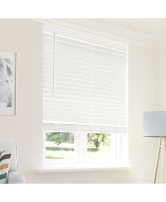 Cordless Faux Wood Blinds, 32