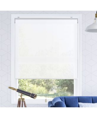 Cordless Roller Shades, Smooth Privacy Window Blind, 27