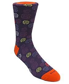 Men's Burst Design Dress Sock