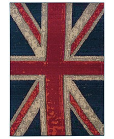 Rugs, Kaleidoscope 505R Union Jack