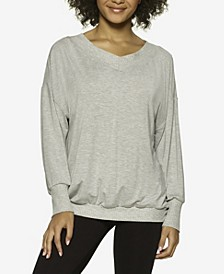 Essentials Modal Boyfriend Lounge Sweatshirt