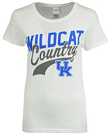 Women's Kentucky Wildcats Mascot Country T-Shirt